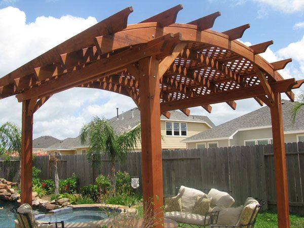 25+ best ideas about Curved Pergola on Pinterest   Backyards, Backyard  kitchen and Outdoor kitchens - 25+ Best Ideas About Curved Pergola On Pinterest Backyards