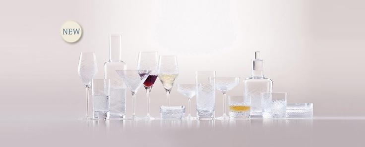 Hommage Comete - kolekce broušených sklenic vyrobené ve spolupráci s Charlesem Schumannem