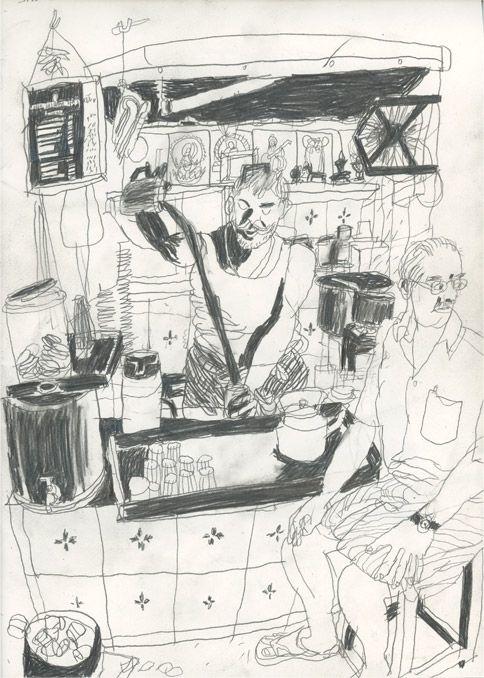 UN PEU PARTOUT - benoit guillaume illustration