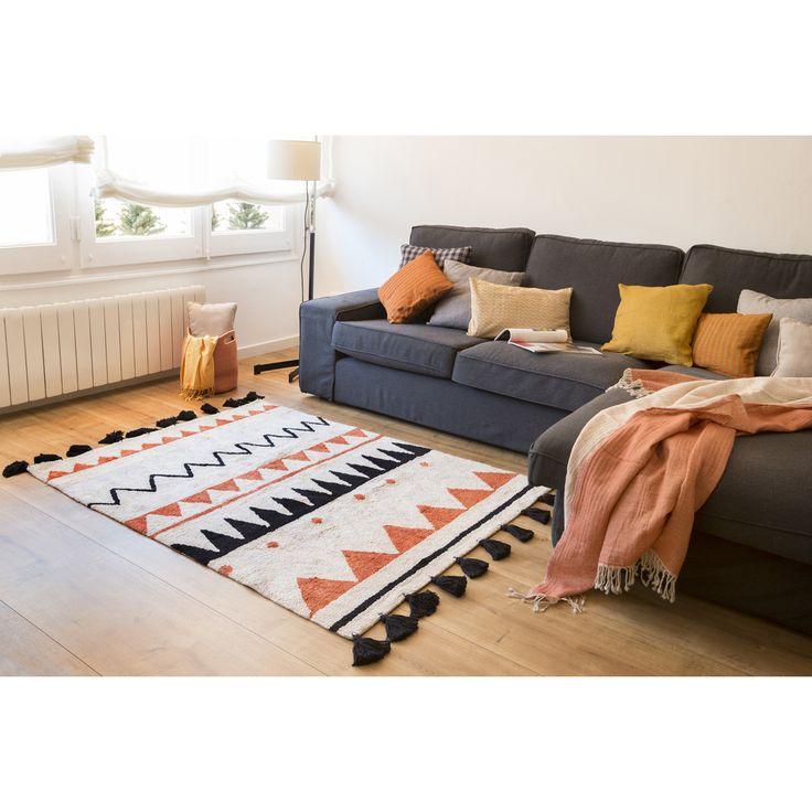 Un joli tapis élégant et pratique qui se combinera parfaitement avec votre sol.