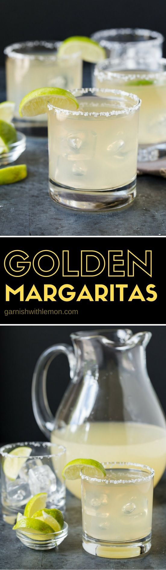 You are only 4 ingredients away from your new favorite Golden Margarita.