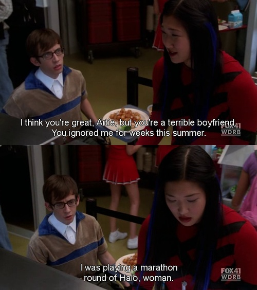 Quotes About Love: Hahaha! This Is My Favorite Glee Moment. :)