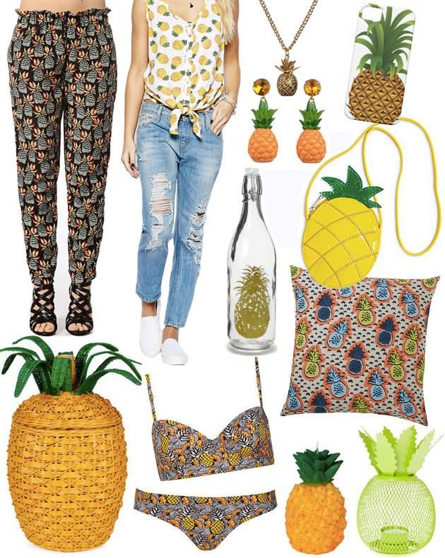 """Our """"Drôles de fruits"""" are among the fashion trends of summer 2014, according to Mode & Travaux mag!"""
