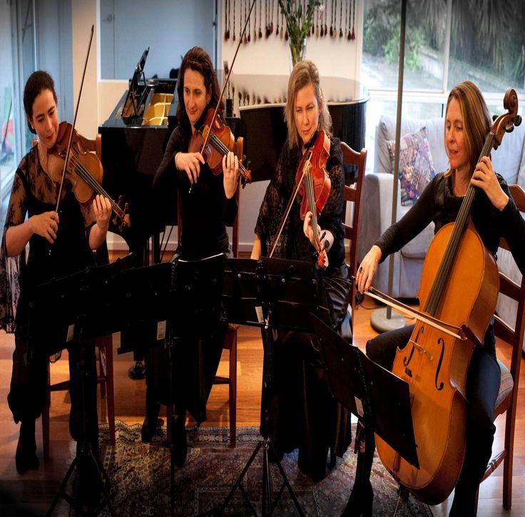 Brisbane String Quartet   String Trio Hire Brisbane   Wedding songs and wedding musicians for your wedding ceremony. Enquire online at: www.BrisbaneCoverBands.com/brisbane-string-quartet/   Ph: 07 3173 1855