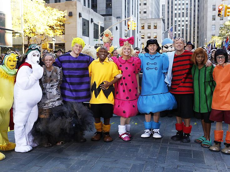 The Today Show and Good Morning America Pulled Out all the Stops for Halloween! Check Out Their Crazy Costumes http://www.people.com/article/today-show-good-morning-america-halloween-costumes-2015