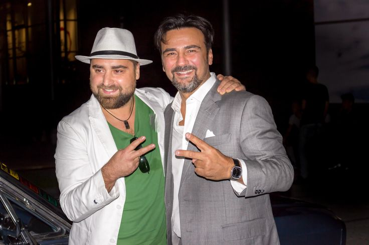 Éliás Jr. and Gianni at MCS Store opening, WestEnd City Center Budapest