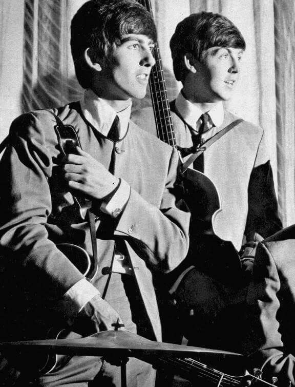 Beatles - George and Paul