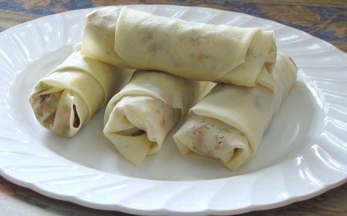Vegetable Spring Rolls - How to Make Veg Spring Rolls (Step by Step Recipe) - Edible Garden