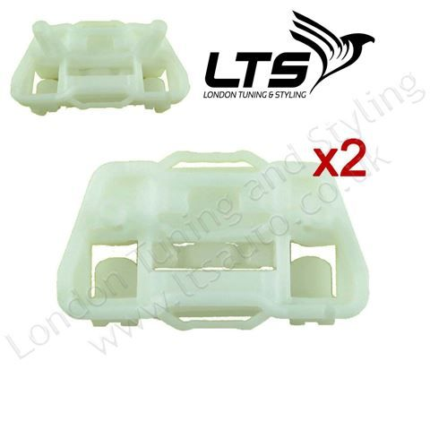 Ford Focus Electric Window Regulator Repair Clips Kit, Front Right, MK1, 1997-2006, Off Side, OSF, O/S, UK Driver Side