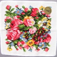 フェイラー ハンカチ ローザンヌ ホワイト25cm【20%OFF】 1680円  http://www.royalkidsclub.com/shopdetail/009000000052/order/
