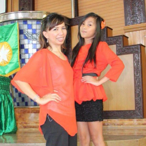 With Denise Tumewu #orange #balikpapan #instagramers #igers #instagram #instadaily #instapic