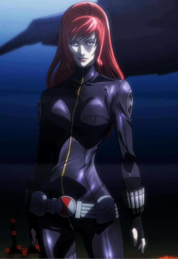 Black Widow (Avengers Confidential - Black.Widow And Punisher 2014)