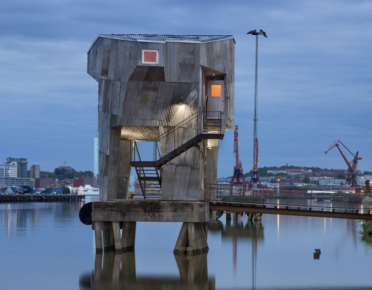 Bastu i Frihamnen, Göteborg. Foto: Hendrik Zeitler