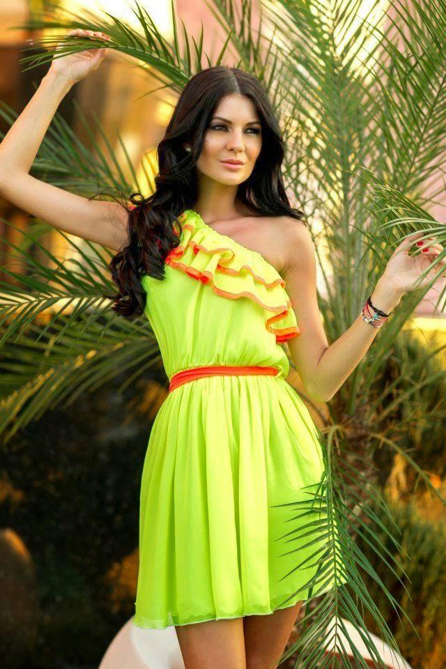 Neon Fashion Trends 2014