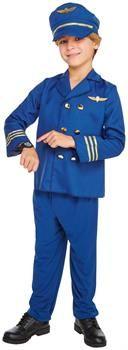 PartyBell.com - Jet Set Pilot Child Costume