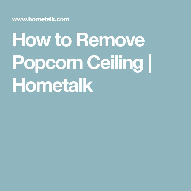 how to clean nicotine off popcorn ceiling