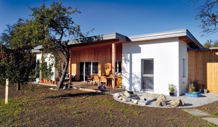 Fertigteilhaus, Bungalow, Niedrigenergiehaus, Plus Energie Haus, Österreich
