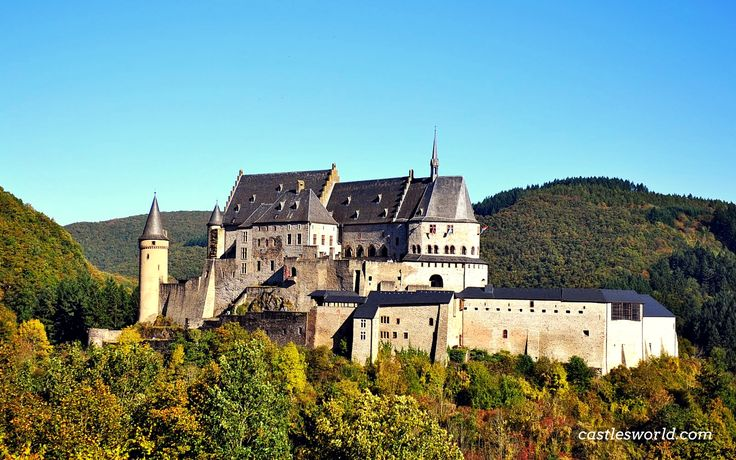 Vianden Castle, Luxembourg One of the largest and most spectacular castles west of the Rhine, with origins dating from the 10th century…