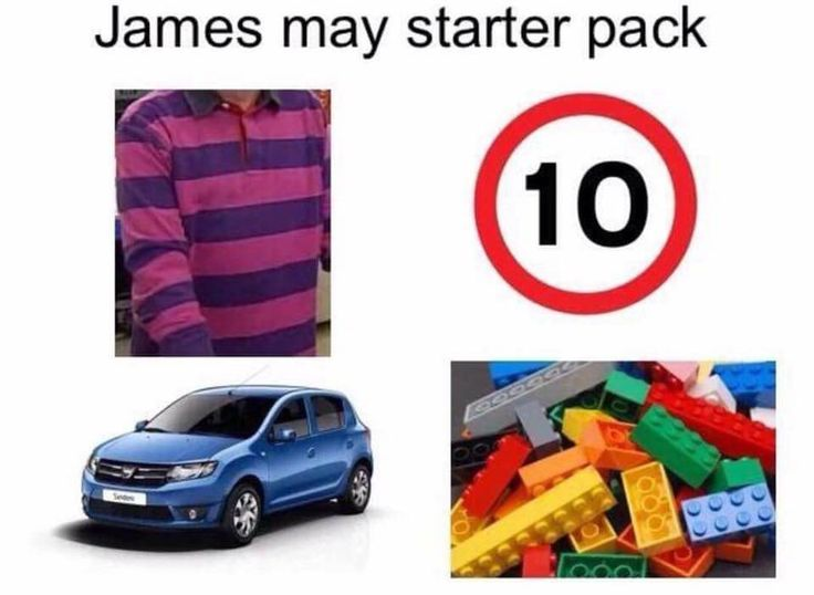 James May starter pack