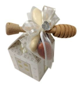 Casetta Tortora con Miele e Spargimiele più Confetti