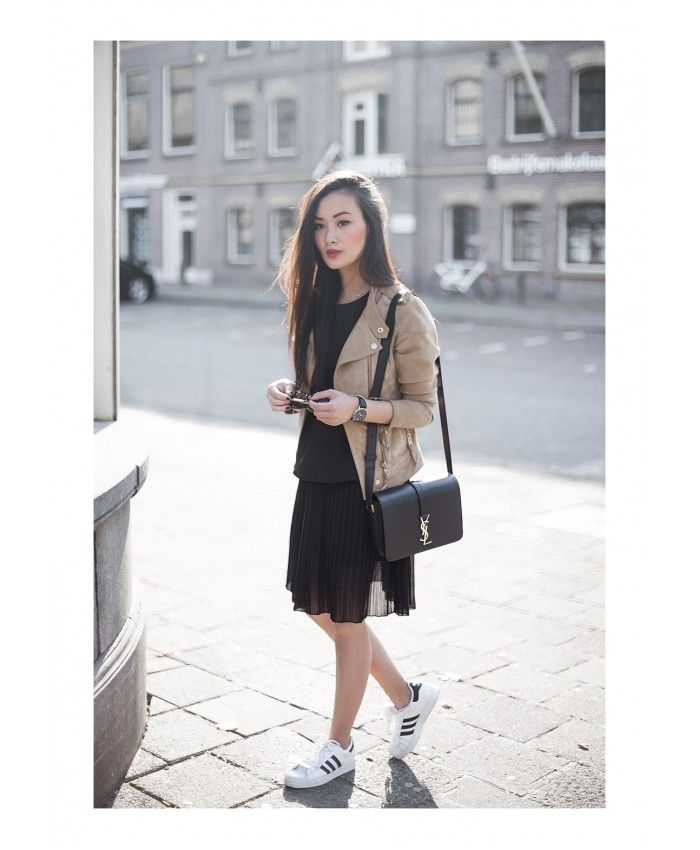 adidas superstar bianche outfit