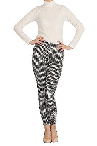 Hipsteration Womens Houndstooth Pattern Legging Pants Black, M Hipsteration http://www.amazon.com/dp/B01AXHEAEQ/ref=cm_sw_r_pi_dp_NVBOwb193AQ8A