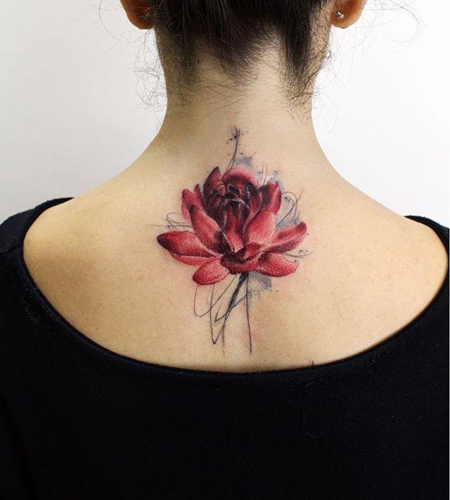 Tatuaż Kwiat Lotosu Fun Styles Body Art Tattoos Tattoos
