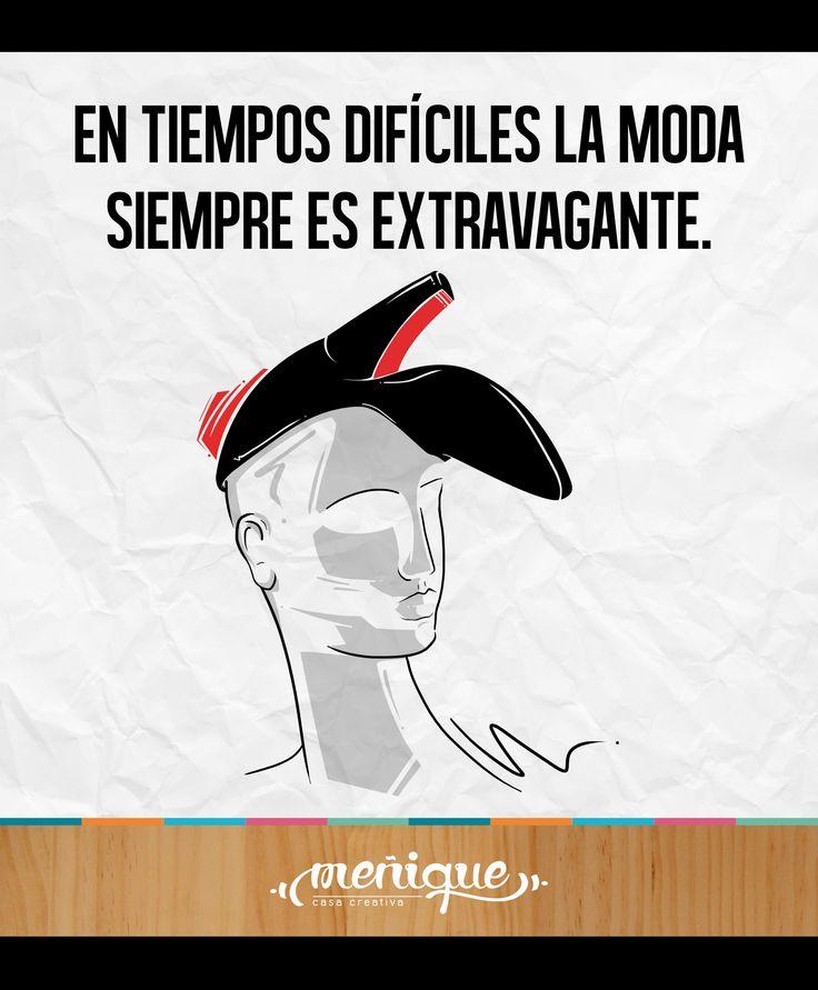 ''En tiempos difíciles la moda siempre es extravagante''. Elsa Schiaparelli.  Meñique Casa Creativa #somosmenique #ElsaSchiaparelli #ilustradoresColombianos #moda