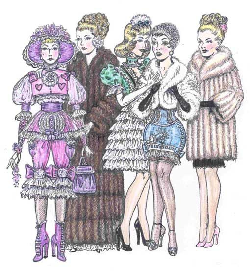 Garçons sissy vêtus de vêtements de soeurs