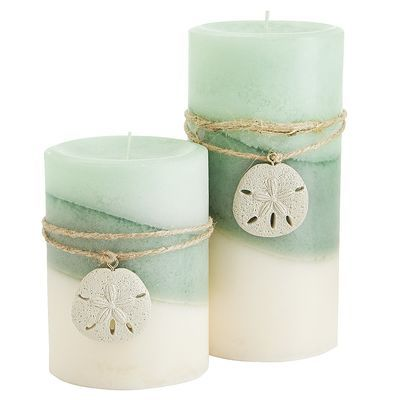 A coastal blend of palm leaf, marine air and sun-ripened melon mingled with dune lily, fragrant jasmine and sea moss—all in fragrant candles to fit your favorite candleholders and pillar stands.