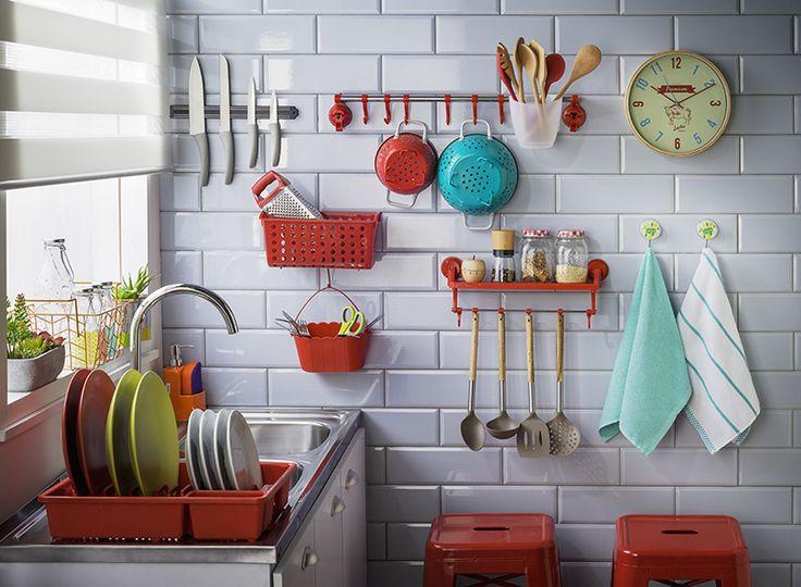 Organiza y dale estilo a tu cocina con nuestros productos con sistema succión. Otoño - Invierno 2016.