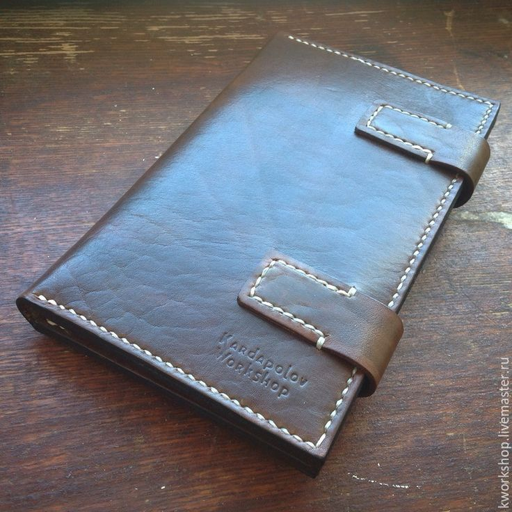 Купить Портмоне Travel из натуральной кожи - коричневый, портмоне кожа, кошелек, мужской бумажник
