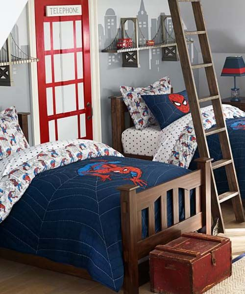 Spiderman+Bedding