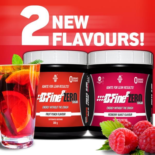 They're here! Meet the NEW #DFine8 Zero flavours Redberry Burst and Fruit Punch.