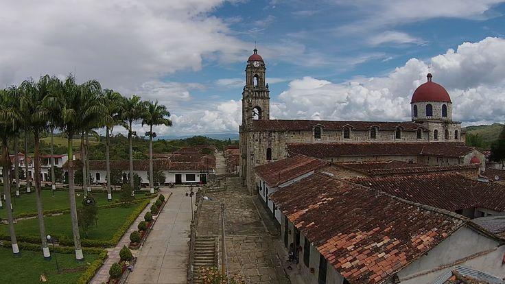 Guadalupe Santander, vista aérea