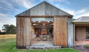Image result for corrugated iron shed