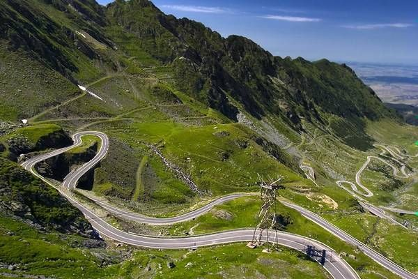 Transfăgărășan road - open only late spring to early autumn, is a way across the Făgărăș Mountains