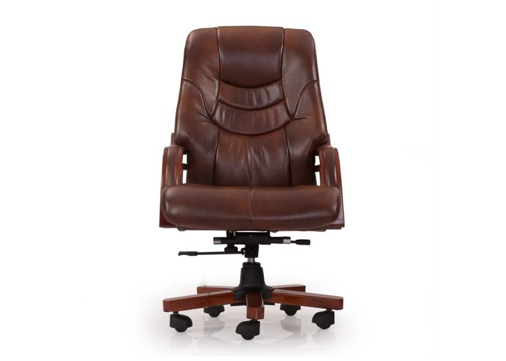 Victor High Back Leather Chair has plush Leather upholstery that makes this an ideal seat for every executive right from admin assistants to managers.