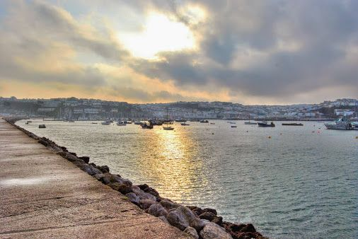 Back along the Breakwater - Brixham.  #tw    -  Paul Hutchinson - Google+