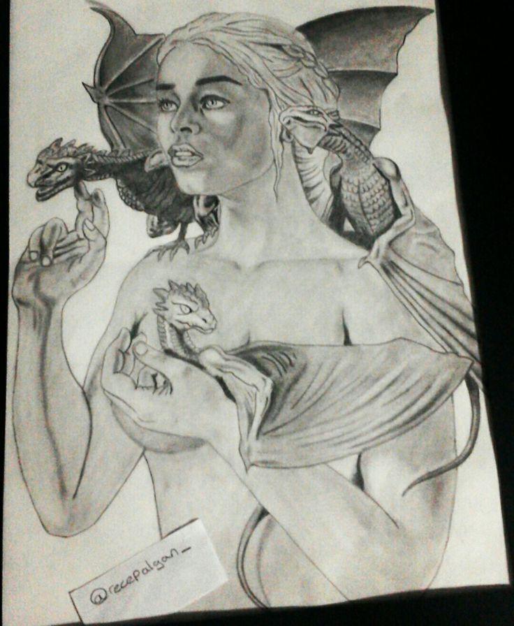 #khaleesi#gameofthrones#art#drawing#