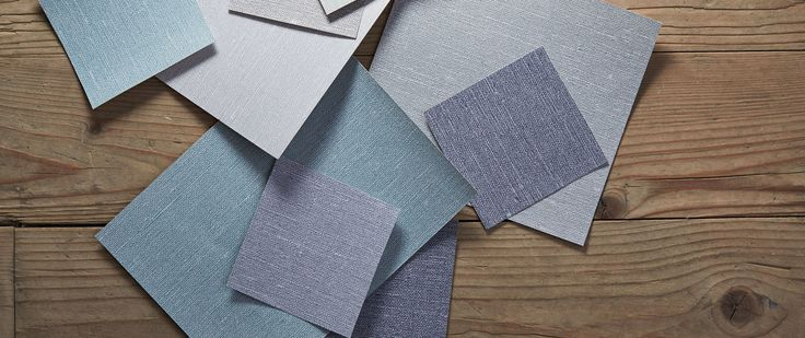Linen - one colour wallpapers with structured surfaces