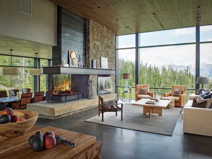 17 best images about mizuumi house basement on pinterest staircase runner concrete fireplace - Fireplaces for small spaces property ...