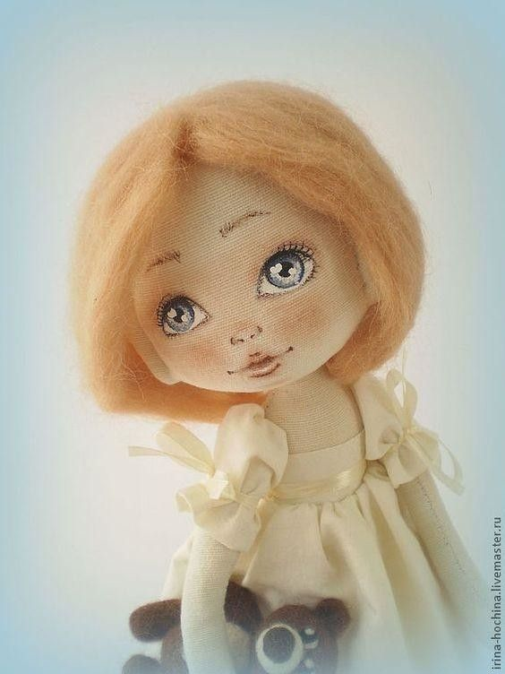 1.Учимся рисовать лицо кукле