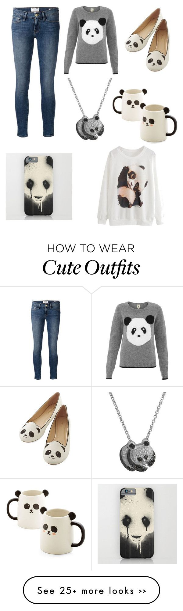 """""""Panda outfit"""" by haleighmillard on Polyvore"""