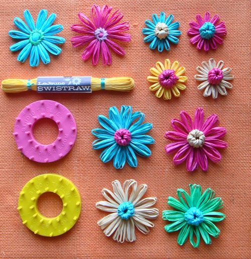 17 Best Images About Loom Flowers On Pinterest