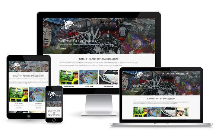 Graffiti Art - www.zasedesign.com #graffitiart #webdesign