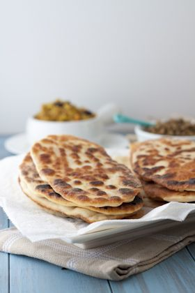 gluten free naan that claims to taste like the real thing....maybe we can try this one too!