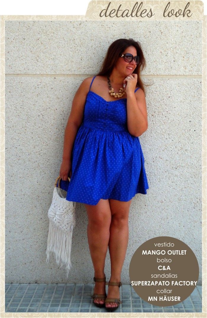 Bolsito blanco, vestidito azul... como me encantas tú!
