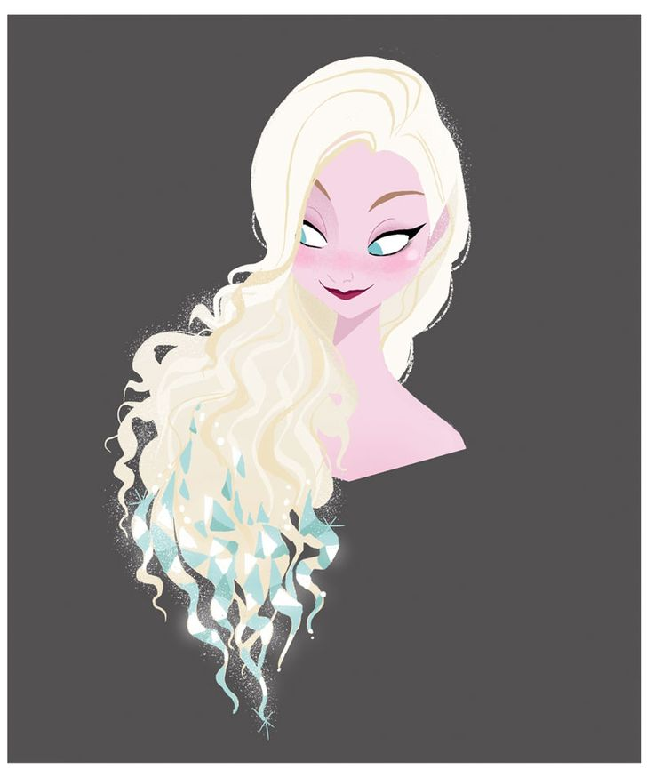 Frozen character design | Illustrator: Brittney Lee