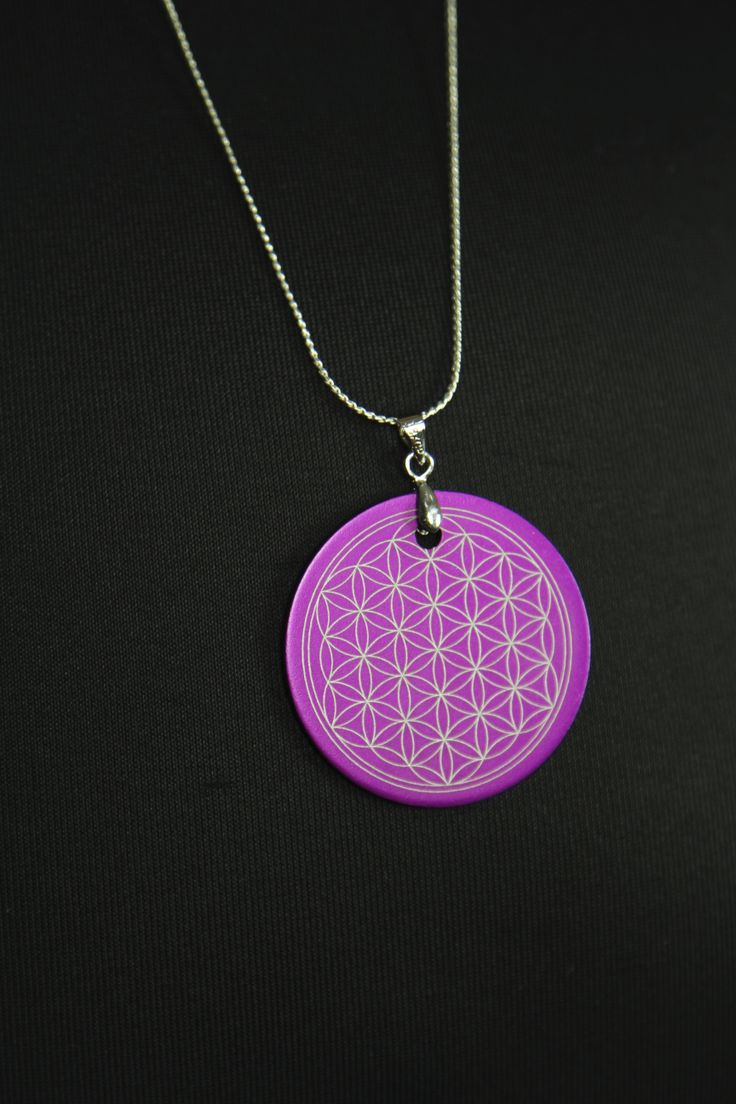 Bliss Full Belly Flower of Life Tesla Amulet from Empowering Birth Services (www.empoweringbirthservices.com.au)